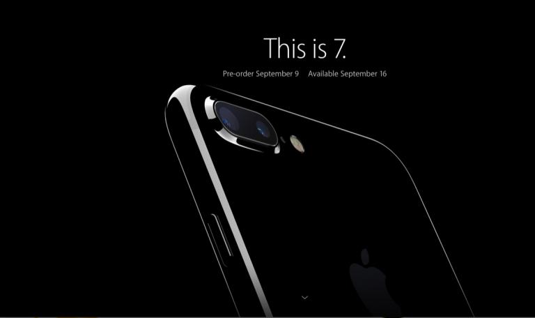 Yang Di Tunggu Sudah Muncul. iPhone 7 Kini Tiba!