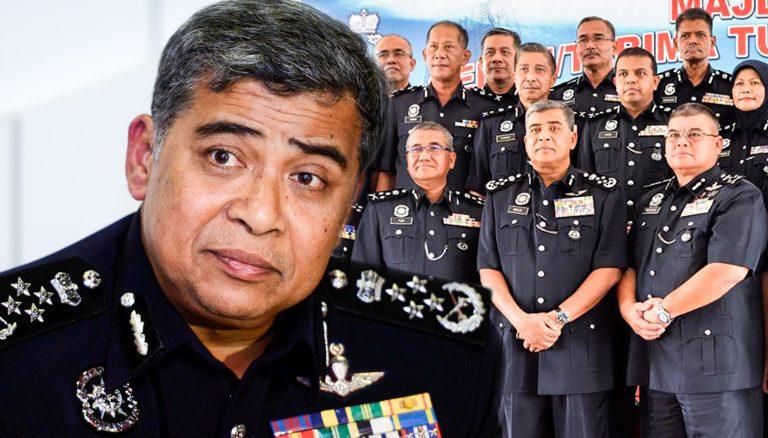 Ketua Polis Negara Bersara Hari Ini