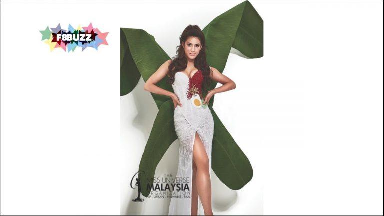 Nasi Lemak Pakaian Miss Universe Malaysia 2017 ke Las Vegas | VIDEO & FOTO
