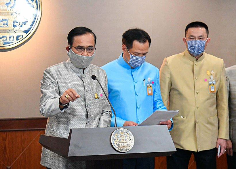 Thai-PM Covid-19